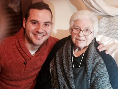juanjo (chef Orielo) y mi abuela mamanica